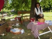 Kartaus Fest 22.7.2012: Lavendelsäckle mit Traudi Hauser