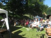 Kartaus Fest 22.7.2012: Zuschauer an der Bühne