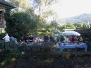 Kartaus Fest 22.7.2012: (40) Abendessen