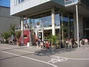 Blick nach Nordwesten zum Ambrosia Cafe am 15.10.2007