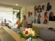 Ambulanter Pflegedienst Heiliggeistspitalstiftung am 7.7.2012 - Gabrielle Thomety und Oliver Schlatter