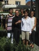 Brillen Schwaer am 7.7.2012 - das Team