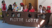 "Kita Immergrün am 21.7.2012 - Theateraufführung ""Flotte Lotte"""
