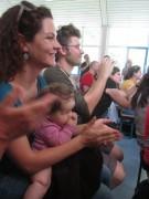 Kita Immergrün am 21.7.2012 - Theaterzuschauer