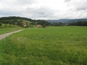 Blick nach Nordwesten zum Jungbauernhof im Dietenbach am 6.8.2012