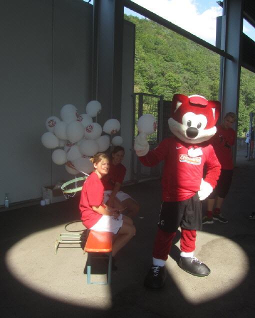 Fuechsle-Tag beim SC Freiburg am 12.8.2012 - Füchsle