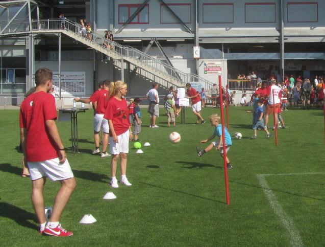 Fuechsle-Tag beim SC Freiburg am 12.8.2012