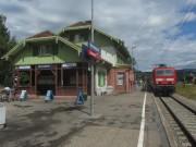 Himmelreich am 6.8.2012 - Bahnhof Höllentalbahn - Blick nach Westen