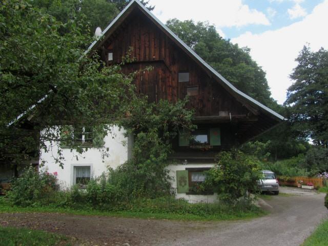 Blick nach Westen zur Rainhofmühle am 6.8.2012