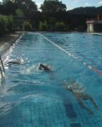 Strandbad am 8.8.2012 - Kraulbahn für Schnellschwimmer