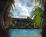 Strandbad am 8.8.2012 - Abendliches Schwimmen unter Palmen