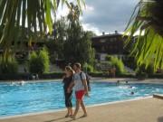 Strandbad am 8.8.2012 - um 19.30 nach der Arbeit ins Bad