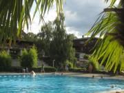 Strandbad am 8.8.2012 - Schimmen um 20 Uhr wie im Millionärspool