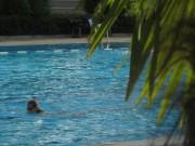 Strandbad am 8.8.2012 - ganz alleine mit Sonne und Palmen