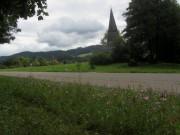 Vaterunserkapelle am 6.8.2012 - Blick nach Nordosten
