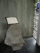 Vaterunser-Kapelle im Ibental am 6.8.2012 - Element Wort