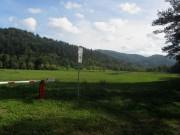 Wonnhalde 4.10.2012 - Blick vom Waldhaus nach Südosten - Überflutungsbecken