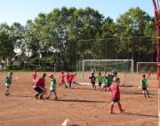 Kinderfussball beim ESV-Freiburg am 28.9.2012 - Trainingsspiel