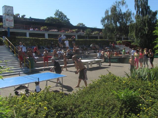 Strandbad 8.9.2011 (20) Die KO-Tischtennisrunde beginnt