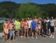 Strandbad 8.9.2011 (22) SpielerInnen der Hobby-Gruppe