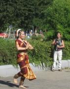Strandbad 8.9.2011 (27) Tänzerin und Fotografin