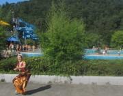 Strandbad 8.9.2011 (28) Indischer Tanz mit der Lettin Liga