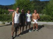 Strandbad 8.9.2011 (31) Tischtennisgruppe Aktive