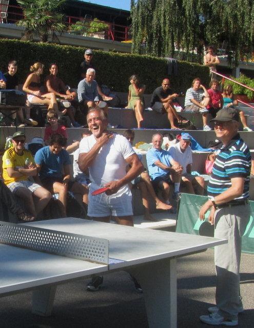 Strandbad 8.9.2011 (4) VIP-Eröfnungsspiel mit Siegerduo Jäger-Seger