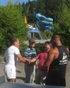 Strandbad 8.9.2011 (6) Adolf Seger, Prof Jäger, Ralf Klausmann und Markus Hoppe