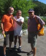 Strandbad 8.9.2011 (9) Alexander Heisler, Adolf Seger und Uli Homann vom SWR