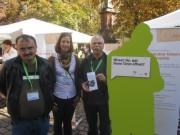 Werkstaettentag 28.9.2012 - Konstantinos Savvidis, Manuela Fäller LAG WR BW und Gerhard Droste