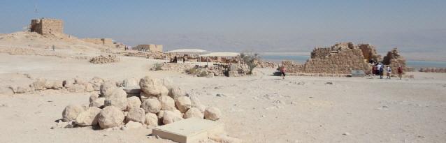 Masada am Toten Meer Ende Oktober 2013