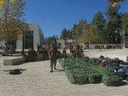 Israelische Soldaten am Eingang zum Gedenkort Yad Vashem am 11.11.2013