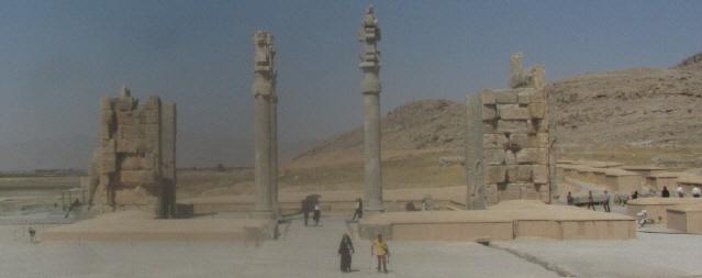 Persepolis zwischen Shiraz und Yazd am 11.10.2014