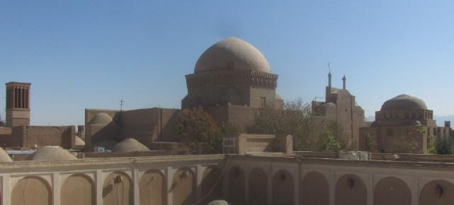 Blick auf die Altstadt von Yazd am 13.10.2014