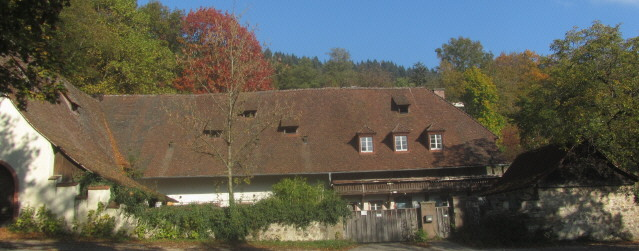 Bauernhof an der Kartaus in Freiburg am 21.10.2015