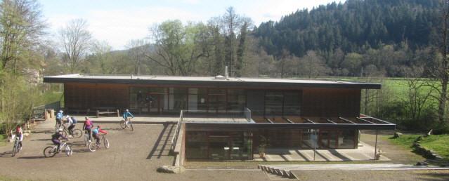 Waldhaus in Freiburg zwischen Günterstal und Wonnhalde am 12.4.2015