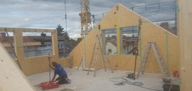 Wohnungsmangel -  Dachgeschoß neu bauen im November 2017