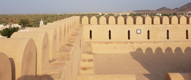 Zitadelle im Oman am 31.10.2018