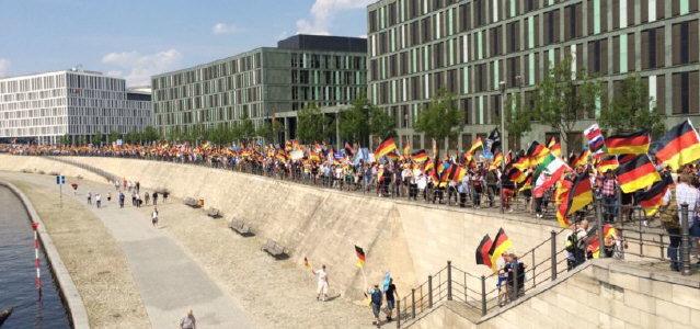 """Berlin am 27.5.2018 - Demo """"Zukunft Deutschland"""""""