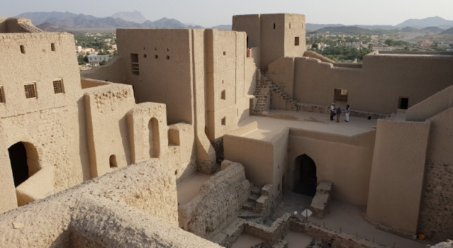 Oman - Wohnhaus am 31.10.2018
