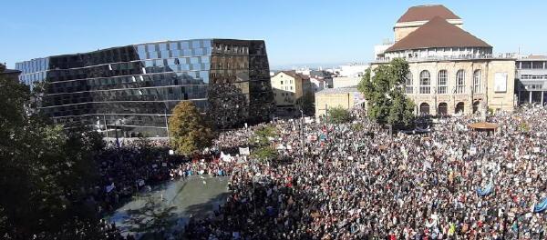 Fridays for Future-Demo in Freiburg am 20.9.2019