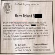 Augsburg06dez2019todesanzeige