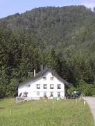 Gasthaus Holzfällerstube am Anfang des Wilhelmer Tales 8/2003
