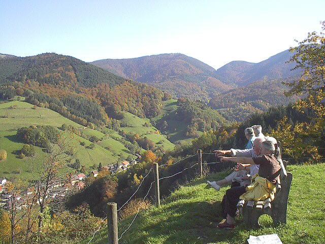 Freiburg Schwarzwald De Munstertal Ferienort Zwischen
