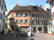 Obertorplatz in Rheinfelden CH am 14.8.2008