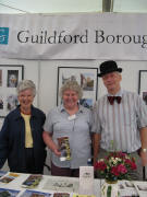 FR-Guildford: Tessi Johnson, Susan and Brian Lewis