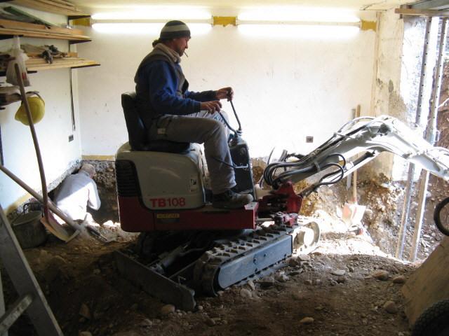 Fußboden Im Keller Tieferlegen ~ Fußboden im keller tieferlegen keller selber bauen was kommt da