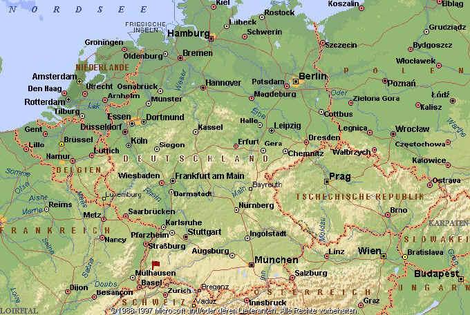 Karte Kassel Und Umgebung.Freiburg Schwarzwald De Landkarten Plane Geografie Zum